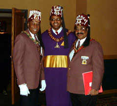 Imperial Potentate Darnell HIMPP Hunter and Me.jpg (23366 bytes)